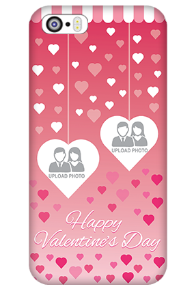 Apple I Phone 5 Sparkling Valentine's Day Mobile Cover