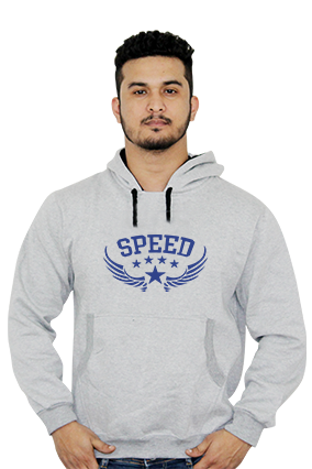 Personalized Speed Themed Full Sleeves Hoodie
