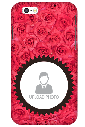 3D-Apple Iphone 6S Personalized Roses Mobile Cover