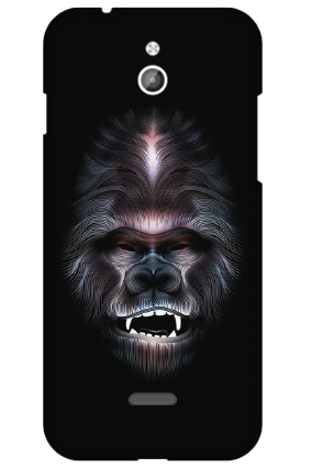 Silicon - InFocus M2 Beard Mobile Cover