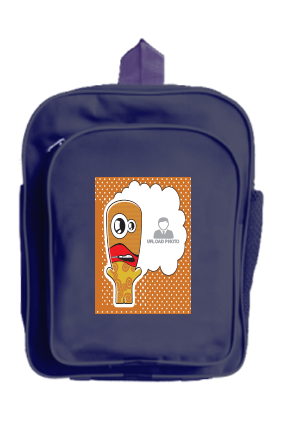 Animated kid bag