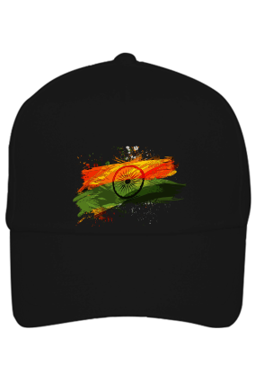 Tricolor Indian Flag Cap