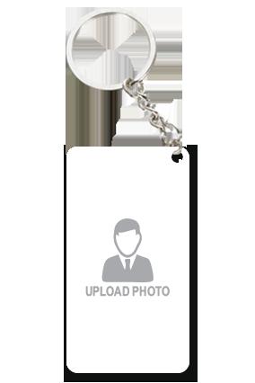 Upload Photo Small Rectangle Key Chain