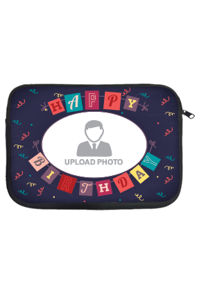 Birthday Laptop Sleeve