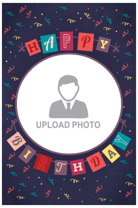 Customized Birthday Wishes Potrait Canvas Print