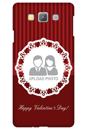 Samsung galaxy A7 Red Hearts Valentine's Day Mobile Cover