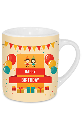 Bubbled Birthday Tea Mug