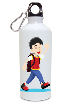 Cool Boy 600ml White Sipper