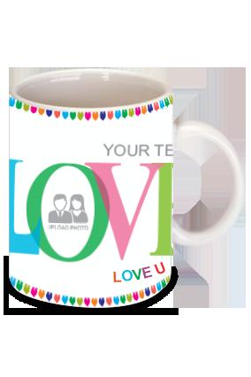 Love Dose Valentine's Day Bone China Mug