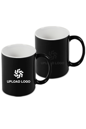 Upload Company Logo Black Magic Mug