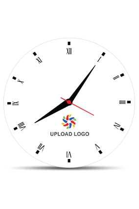 Upload Logo Wall Clock