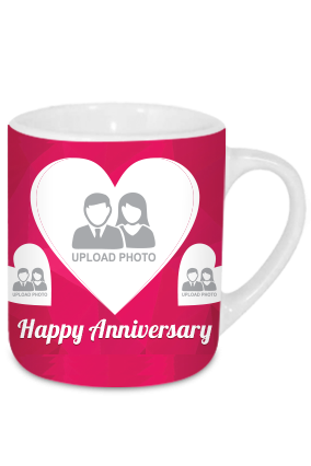 Happy Anniversary Tea Mug