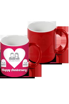 Happy Anniversary Red Magic Mug