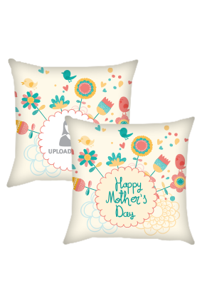 Colorful Mother's Day Cushion Cover