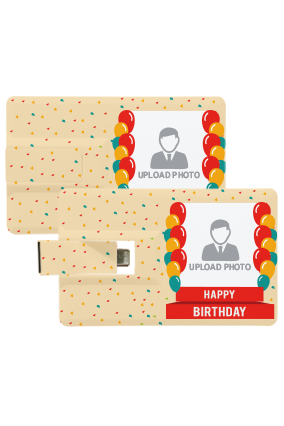 Birthday Wish OTG Credit Card Pen Drive