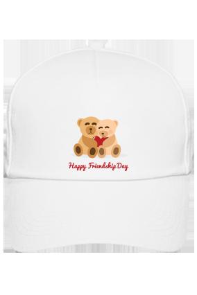 Friendship Day White Cap