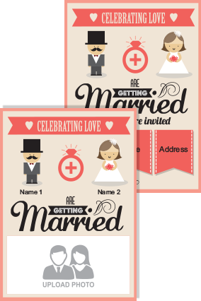 Customized Wedding Cards Online Marriage Invitation