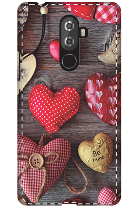 Personalised 3D-Lenovo K8 Note The Falling Love Mobile Cover