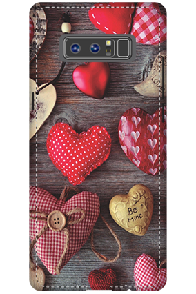 Customised 3D-Samsung Galaxy Note 8 The Falling Love Mobile Cover
