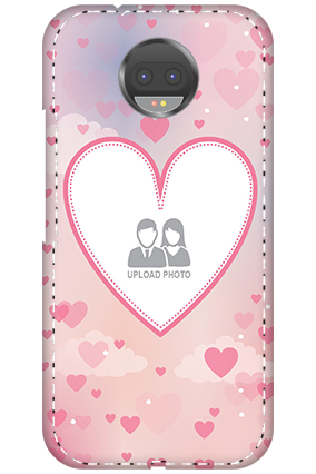 3D - Motorola Moto G5s Plus Love & Heart Anniversary Mobile Cover