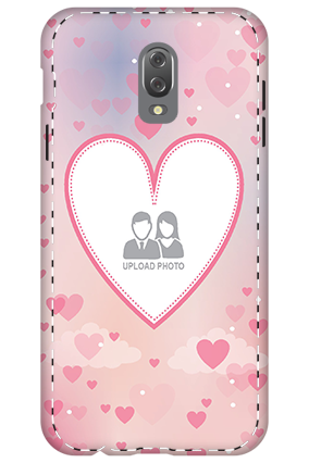 Personalized 3D-Samsung Galaxy J7 Plus Love & Heart Anniversary Mobile Cover