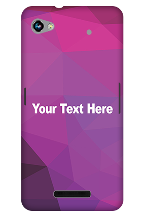 Premium 3D-Micromax Canvas Hue 2 A316 Purple Mobile Cover