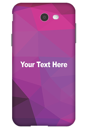 3D-Samsung Galaxy J7 Purple Mobile Cover