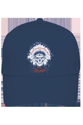 American Designer Cotton Blue Cap