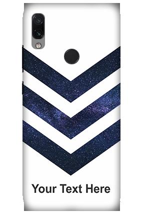 3D-Xiaomi Redmi Note 7 Speedy Blue Customized Mobile Cover