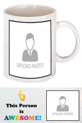 Awesome Person Customized Trendy Coffee Mug