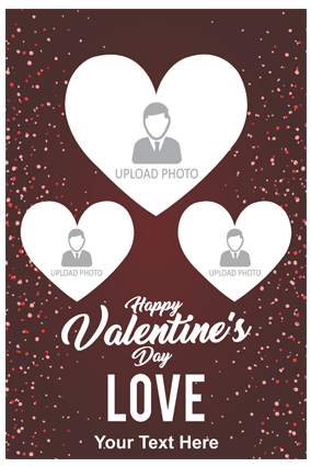 Happy Valentine's Day Love Poster