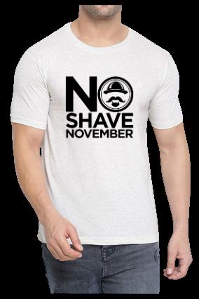 No Shave November Half Sleeve DriFit T-Shirt