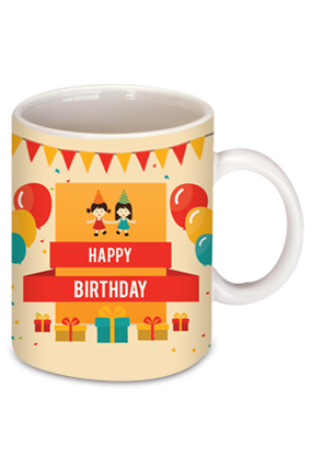 Colorful Birthday Coffee Mug