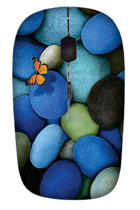 Colorful Stones Wireless Mouse