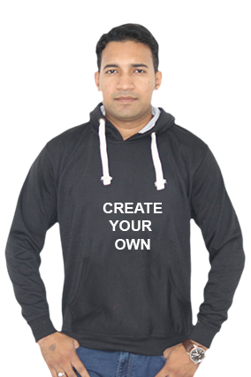 Design Your Own Hoodie (Black)