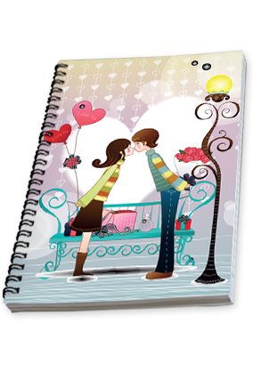 Love Flare Notebook