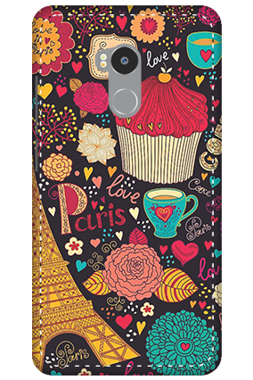 3D - Redmi 4 Prime Paris Valentine's Day Mobile Cover