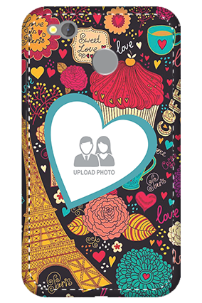 3D -  Redmi 4 Paris Valentine's Day Mobile Cover