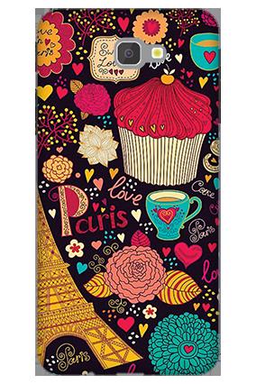 3D - Samsung Galaxy J7 Prime Paris Valentine's Day Mobile Cover