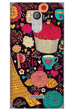 3D - Coolpad Note 5 Paris Valentine's Day Mobile Cover