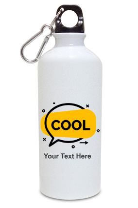 Cool Personalized Kids White Color Sipper