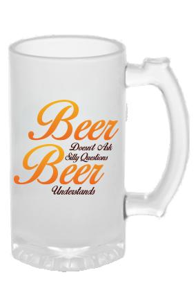 Amazing Frosted Beer Mug