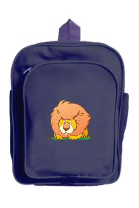 Customized The Lion Kids School Bag