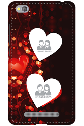 3D - Xiaomi Redmi 4A True Love Valentine's Day Mobile Cover