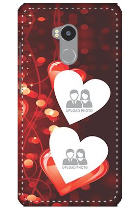 3D - Redmi 4 Prime True Love Valentine's Day Mobile Cover