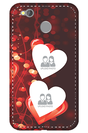 3D -  Redmi 4 True Love Valentine's Day Mobile Cover
