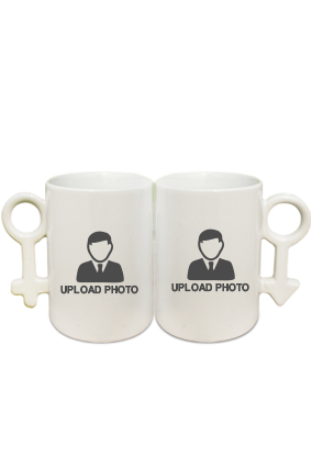 Upload Photo Couple Coffee Mugs