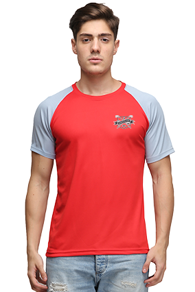 Effit Different Red Grey T-Shirt