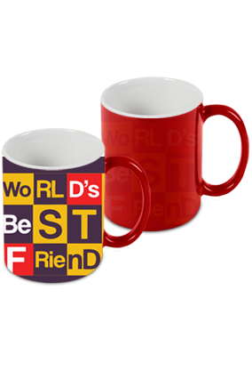 Best Buddy Red Magic Mug