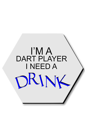 Dart Player Hexa Coaster